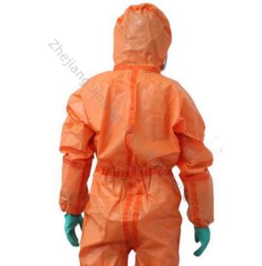 Protective Coverall Fabric Eco-Friendly PE Lamination Nonwoven Fabric pictures & photos