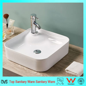 Wholesale Best Price European Style Bathroom Ware Thin Edge Basin pictures & photos
