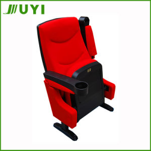 China Supplier VIP Fire-Resistant Folding Theater Seats Cinema Chair Jy-616 pictures & photos