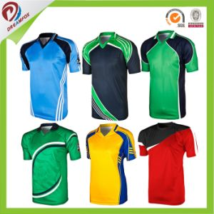 Breathable Custom Sublimated Best Cricket Jersey Designs pictures & photos