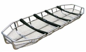Aluminum Alloy Basket-Shaped Emergency Stretcher (HS-6C) pictures & photos