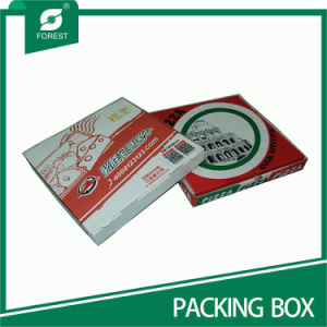 Large Corrugated Food Box for Slice Pizza pictures & photos