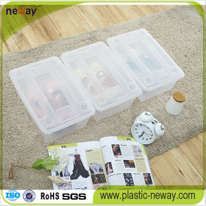 Clear Plastic Shoe Storage Container pictures & photos