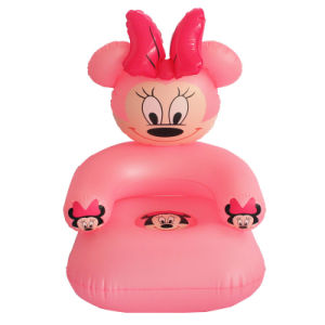 Pink Color New Design PVC or TPU Inflatable Sofa Seat for Baby pictures & photos