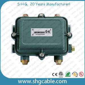 5-1000MHz Outdoor Power Passing CATV Splitters (SPTR2W) pictures & photos