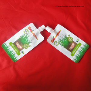 Refillable Spout Pouches for Yoghourt/Milk Packaging pictures & photos