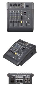 4 Channels Portable Mini Power Mixer Audio with 150W pictures & photos