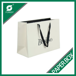 White Kraft Paper Bag with Logo Printed for Shopping pictures & photos