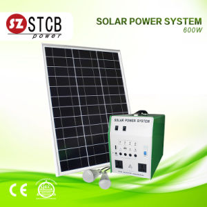 Portable 500W Solar System for Camping or Household pictures & photos