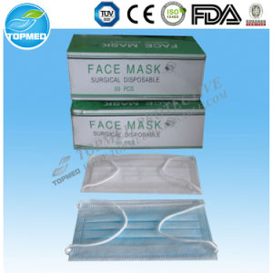 High Quality Disposable Nonwoven Japan 3ply Face Mask pictures & photos