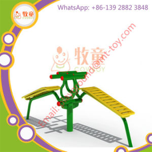 Gym Exercise Outdoor Fitness Equipment - Two Person Sit-up Trainer pictures & photos