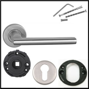 Stainless Steel 304 Solid Casting Lever Door Handles pictures & photos