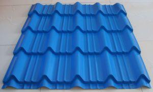 PVC ASA Coloured-Glaze Roof Tile Plastic Product Extruder Making Machine pictures & photos