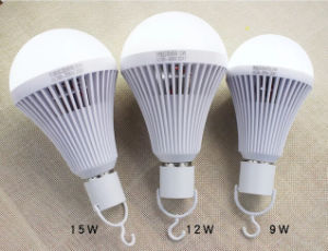 Best Selling E27 B22 Base 9W Emergency LED Bulb Light pictures & photos