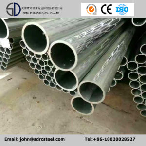 """Manufacturer ERW Gi Pipe 2"""" Ss400 Gi Galvanized Steel Pipe Used for Greenhouse pictures & photos"""