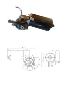 12-24V Gear Reduction Motor for Garage Door pictures & photos