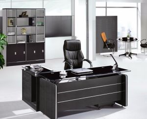 Glass Top Exeuctive Office Table Modern Office Furniture (NS-ND080.2) pictures & photos
