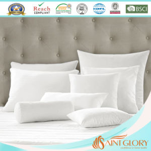 Hotel Goose Down Cushion Insert with Pure Cotton 233tc Cover pictures & photos