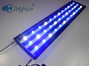 90cm 108W White+Blue Aquarium LED Lighting for Fresh Water Fish Tank
