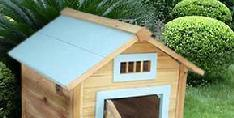 Backyard Heated Outdoor Cat House Large Dog Kennel pictures & photos