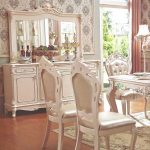 Dining Table and Arm Chair for Dining Room Furniture Sets
