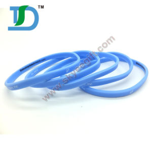 100% Eco-Friendly Bright-Colored Silicone Bracelet pictures & photos