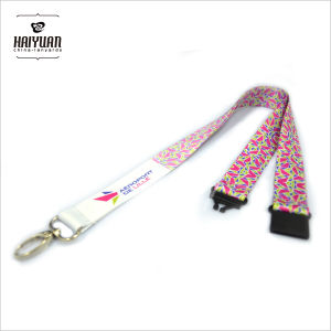 Fashion Beautiful Heat Transfer Printing Colorful Lanyard pictures & photos