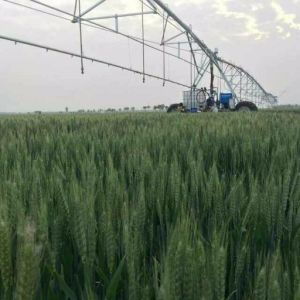 Lateral Move Irrigation System with Fertiliazer pictures & photos