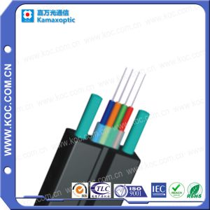 4core Bow-Type Drop Optical Fiber Ribbon Cable pictures & photos