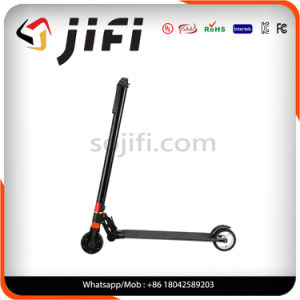 Two Wheel Electric Kick Scooter with LCD Display Screen pictures & photos