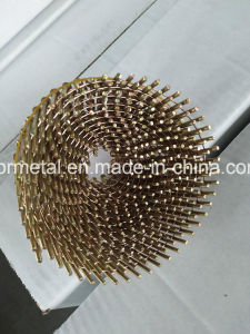 Q195/Q235 Blunt Point Galv Pallet Nails Roofing Nails Coil Nails pictures & photos