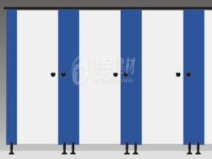 Compact Laminate Sheet Toilet Cubicle Partition pictures & photos