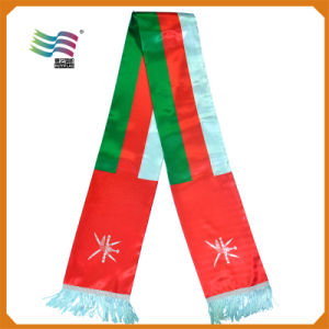 Advertising Knitting Country National Flag Scarfs for National Day pictures & photos