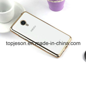 Factory OEM Electroplated TPU Phone Case for Meilan Metal pictures & photos