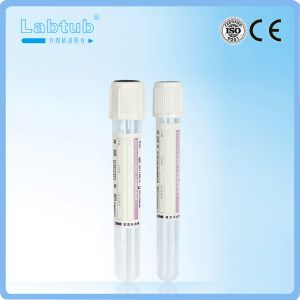 EDTA-K2 Separation Gel Vacuum Blood Collection Tube pictures & photos