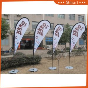 Advertising Durable Custom Color Guard Feather Flag pictures & photos