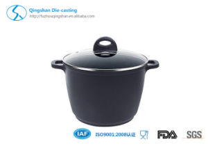 OEM High Quality Ceramiac Soup Pot Sauce Pan with Lid pictures & photos