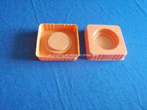 Orange PS Tray for Cosmestic Product Colour Blister Tray for Bottle pictures & photos