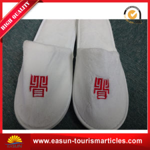 Cheap Wholesale Closed Toe Airline Slippers pictures & photos