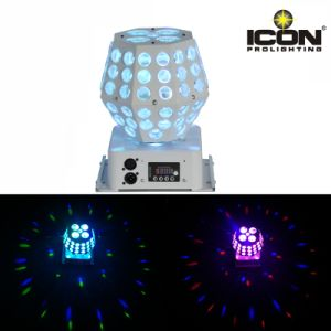 LED Starball Effect Light with Rotation Gobo Pattern and Laser Beam pictures & photos