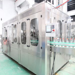 Glass Bottle Filling Machine (3-in-1) pictures & photos