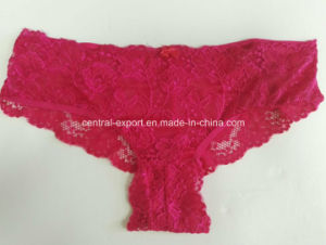 Fashion Sexy Lace Lady Panty Woman Underwear pictures & photos
