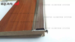 Aluminum Transition Profile with PVC Insert pictures & photos