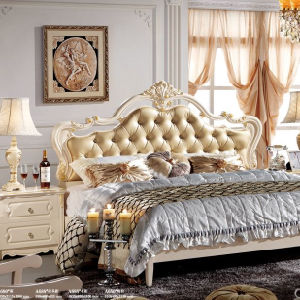 Luxury Bed European Classic Romance Bed Bedroom Decoration pictures & photos