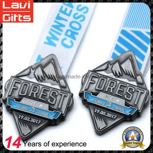 Metal Sports Medal with Customized 3D Logo Engraving pictures & photos