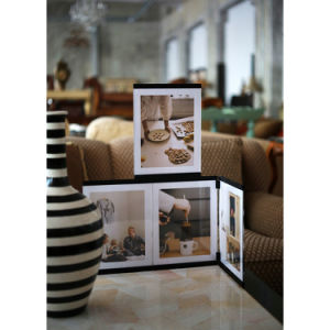 """5""""*7""""Leggy Horse New Style Acrylic PU Photo Frame/Picture Frame with 4 Piece Set pictures & photos"""