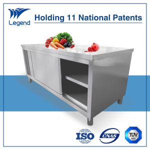 Restaurant Supply Heavy Duty Stainless Kitchen Cabinet pictures & photos