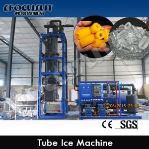 Shanghai High Quality 2000 Kg Daily Production Tube Ice Machine pictures & photos