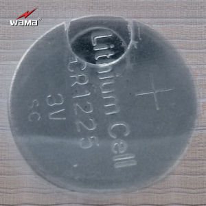 Lithium Button Cell Battery Coin Cell Battery Cr1225 pictures & photos