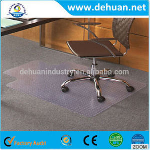 PVC Office Chair Mat / PVC Vinyl Floor Carpet pictures & photos
